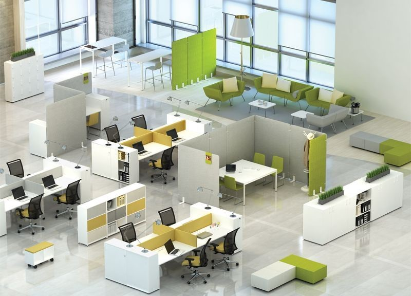 Different Types of Office Furniture Layouts