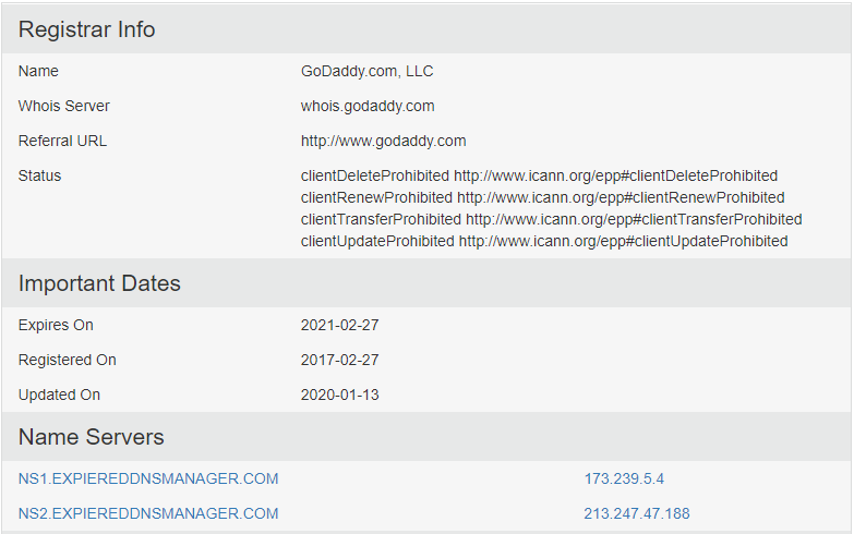 Kuttymovies.com Registrar info