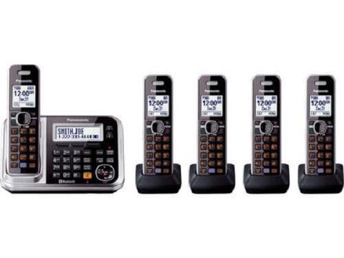 Panasonic Bluetooth Cordless Phone KX TG7875S