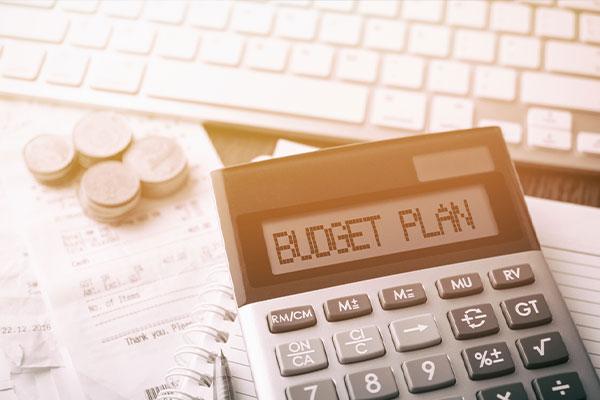 Plan out a Budget