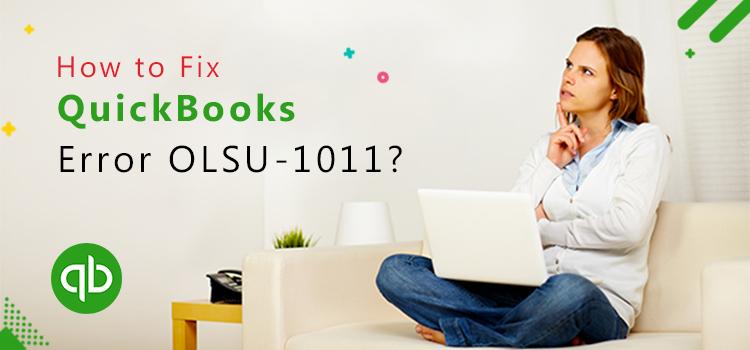 QuickBooks error OLSU-1011