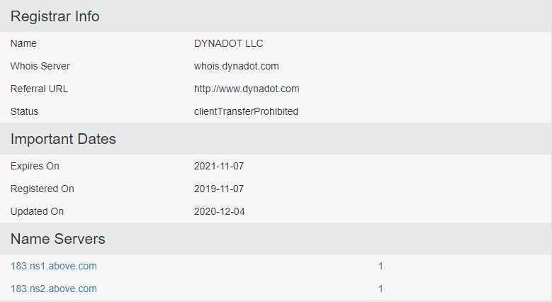 Sdmoviespoint.com Registrar info