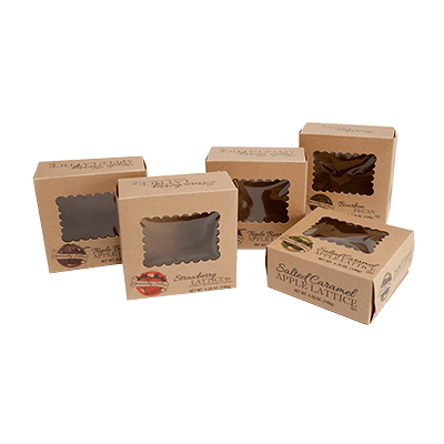 The Kraft Boxes are Recyclable and Biodegradable