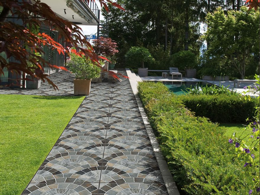 Festive Exterior Makeover with Pavit Ceramics Outdoor tiles