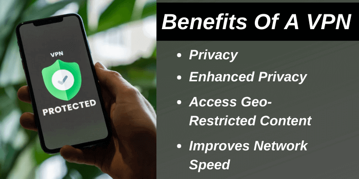 Benefits of using the VPN