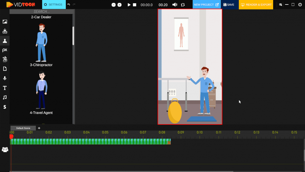 2D animation video softwares have the access to customized