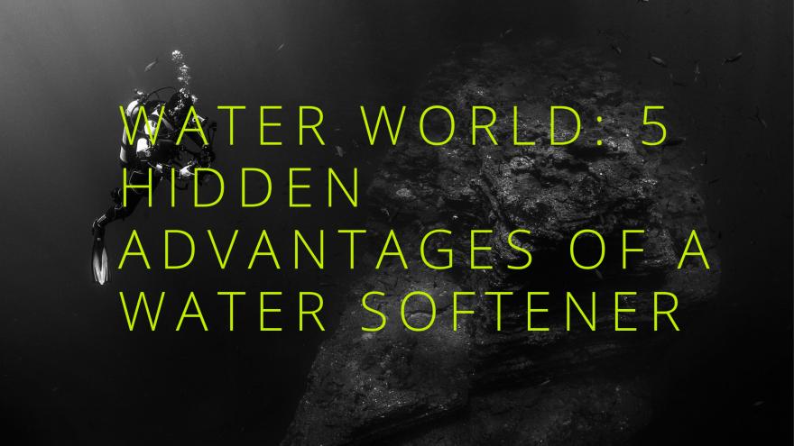 Water World 5 Hidden Advantages of a Water Softener